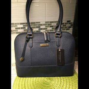 NWT Tignanello Navy RFID Shoulder bag